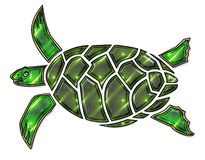 Turtle illustration Stock Photos