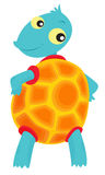 Turtle illustration Royalty Free Stock Photography
