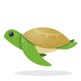 Turtle. Image of an turtle. Turtle on the move Stock Photography