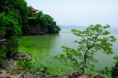 Turtle Island Tai Lake in Wuxi China Royalty Free Stock Photo