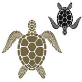 Turtle. Isolated objects on white background. Vector illustration (EPS 10&#x29 Stock Photography