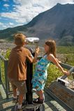 Turtle Mountain Frank Slide Royalty Free Stock Images
