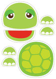 Turtle paper puppet Stock Photo