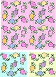 Turtle pattern  Stock Photos