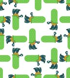 Turtle pattern seamless. Amphibian background. Childrens cloth texture. Animal Ornament vector illustration