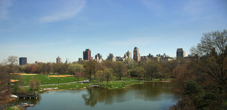 Turtle pond, Central Park, New Royalty Free Stock Image