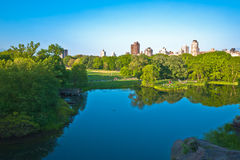Turtle Pond in Central Park, New York City Royalty Free Stock Photography
