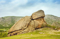 Turtle Rock Mongolia Royalty Free Stock Photos