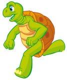 Turtle runner Stock Image