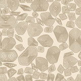 Turtle seamless pattern. Brown and beige tortoise. Terrapin wallpaper. Royalty Free Stock Images