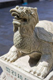 Turtle statue carving Royalty Free Stock Photo