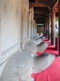 Turtle stone steles Royalty Free Stock Photos