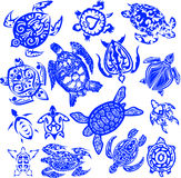 Turtle tattoo Royalty Free Stock Images