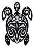Turtle. Tattoo design Stock Image