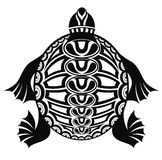 Turtle. Tattoo design Royalty Free Stock Photos