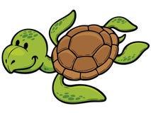 Turtle. Vector illustration of Cartoon turtle Stock Photography