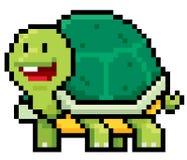 Turtle. Vector illustration of cartoon Turtle - Pixel design Stock Photo