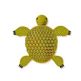 Turtle zentangle pattern. Vector illustration on white background Royalty Free Illustration