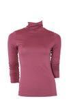 Turtleneck fêmea cor-de-rosa imagem de stock royalty free