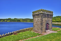 Turton Reservoir Tower Stock Images