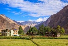 Turtuk village, Diskit, India Royalty Free Stock Photo