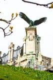 Turul eagle near Buda Palace entrance gate Royalty Free Stock Images