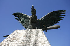 The turul is a mythical saint bird of the hungarians Stock Photography