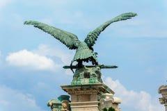 Turul-Vogel durch Gyula Donath lizenzfreie stockbilder