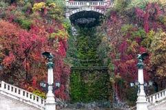 Turuls and Dry Waterfall, Budapest, Hungary Royalty Free Stock Image