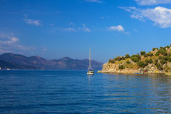 Turunc bay, Aegean sea Royalty Free Stock Photo