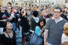 Turyści Zdjęcia Stock