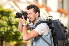 turyści Zdjęcie Stock