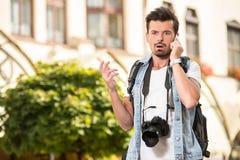 turyści Obrazy Stock