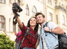 turyści Obraz Stock