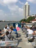 Turyści na łodzi w Bangkok Fotografia Royalty Free