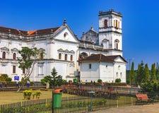 Turyści odwiedzają kościół St Francis Assisi zdjęcie royalty free