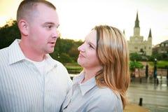 Turyści Opowiada w Nowy Orlean fotografia stock