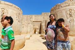 Turyści przy Egipt zdjęcie stock