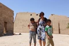 Turyści przy Egipt obraz royalty free