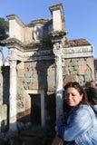 Turyści przy Rzym fotografia royalty free