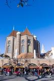 Turyści przy Viktualienmarkt w Monachium Obraz Royalty Free