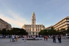 Turyści w mieście Porto Obraz Stock