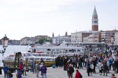 Turyści w Wenecja, Włochy Zdjęcie Stock