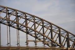 Turyści wspinają się puszek od wierzchołka Sydney schronienia most Fotografia Royalty Free