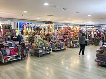 Turyści przy MBK centrum handlowym, Bangkok Obraz Royalty Free