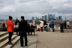 Turyści w Greenwich Obraz Stock