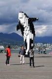 Turyści w Vancouver zdjęcie stock