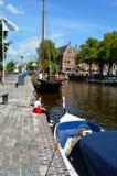 Turyści w Groningen Obrazy Royalty Free