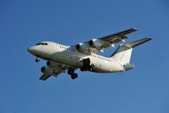 TURYN - Listopad 07, 2015 - cityjet samolotu EI-RJN przyjeżdżać Zdjęcia Stock