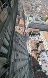 Turyn od wysokiego budynku w mieście dzwonił GRAMOCZĄSTECZKI ANTONELL Fotografia Royalty Free